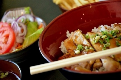 Chicken Teriyaki With Original Ceviche DOZO Sauce